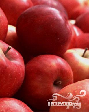 Яблочный коктейль с лимончелло и клюквой - фото шаг 1