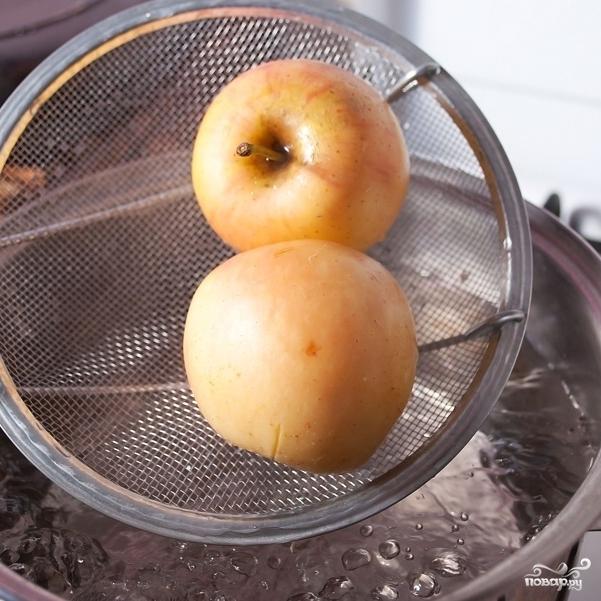 Бланшированные яблоки - фото шаг 4