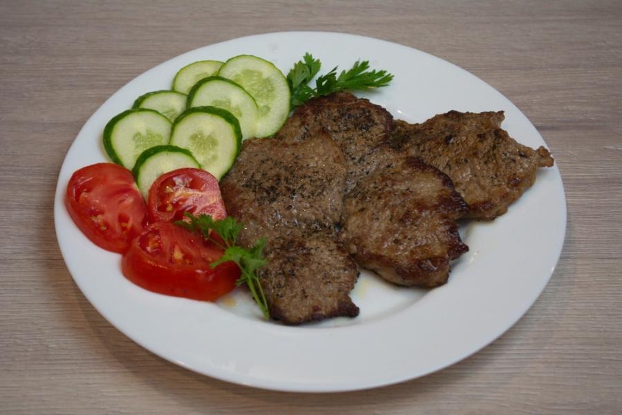 Как приготовить говяжий лангет