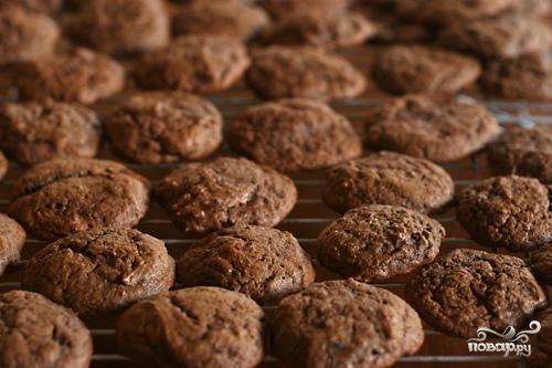 Шоколадное печенье на сметане - фото шаг 2