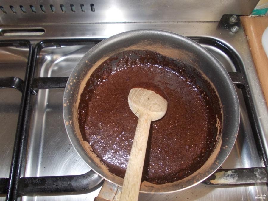 Шоколадная глазурь для торта из шоколада и сметаны