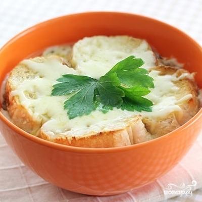 Французский луковый суп - фото шаг 8