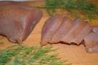 Карпаччо из мяса птицы