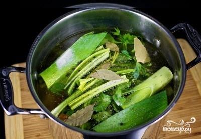 Овощной бульон диетический - фото шаг 8