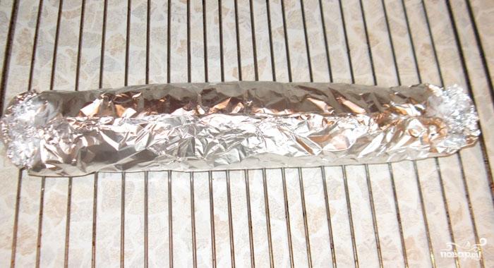 Запеченная свиная вырезка в беконе - фото шаг 5