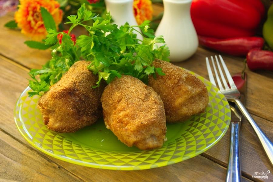 котлеты из куриной грудки по киевски видео рецепт