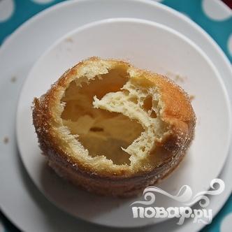 Апельсиновые поповеры (пустые булочки) - фото шаг 7
