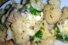 Цветная капуста с плавленым сыром