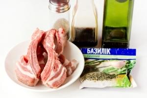 Рецепт Свиные ребрышки, жареные на сковороде