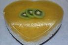 Торт, покрытый желе