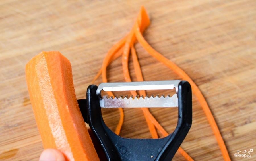 Овощное рагу со шпинатом - фото шаг 1