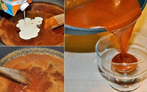 Голландские вафли с карамелью - фото шаг 8
