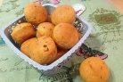 Булочки с соленым сыром и вялеными помидорами