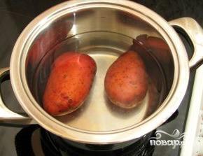Салат с семгой и картофелем - фото шаг 2