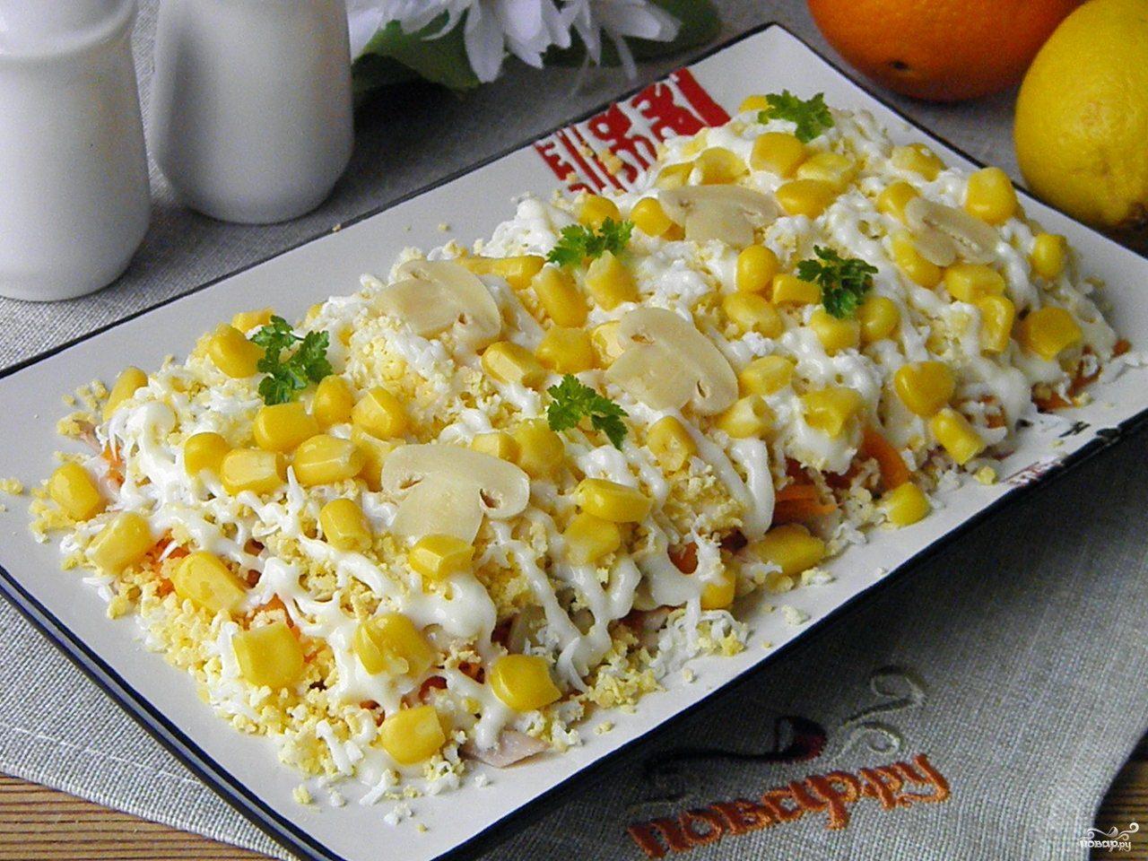 салат из филе курицы рецепты с майонезом