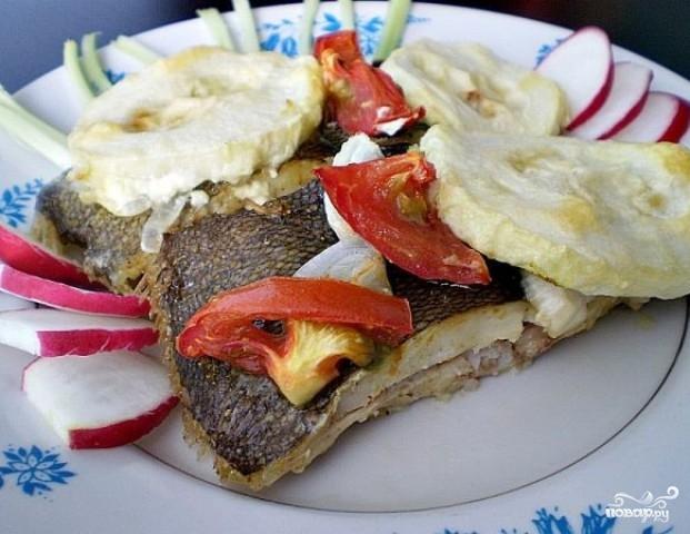 Камбала в духовке рецепты с фото с овощами и