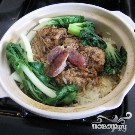 Рис с мясом по-китайски - фото шаг 7