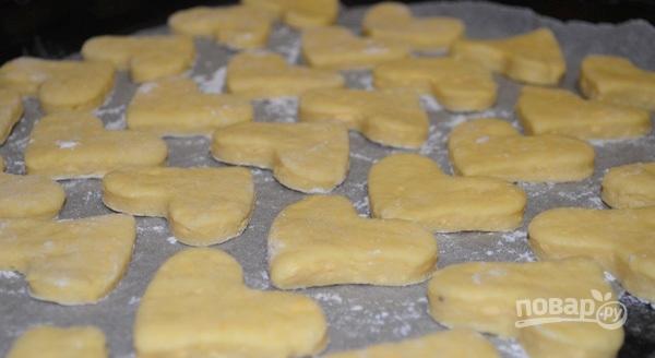 Рецепт печенья на формочке на газу 129