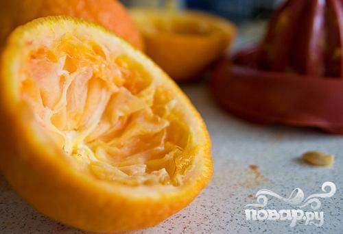 Витаминный напиток из апельсина и миндаля - фото шаг 1