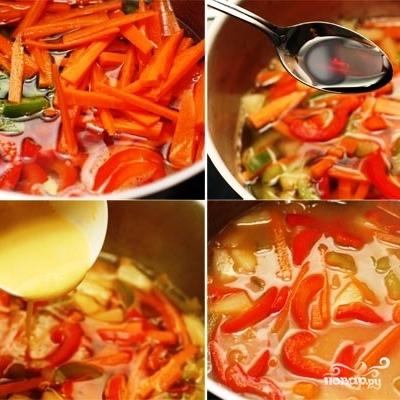 Котлеты из индейки с кисло-сладким соусом - фото шаг 8