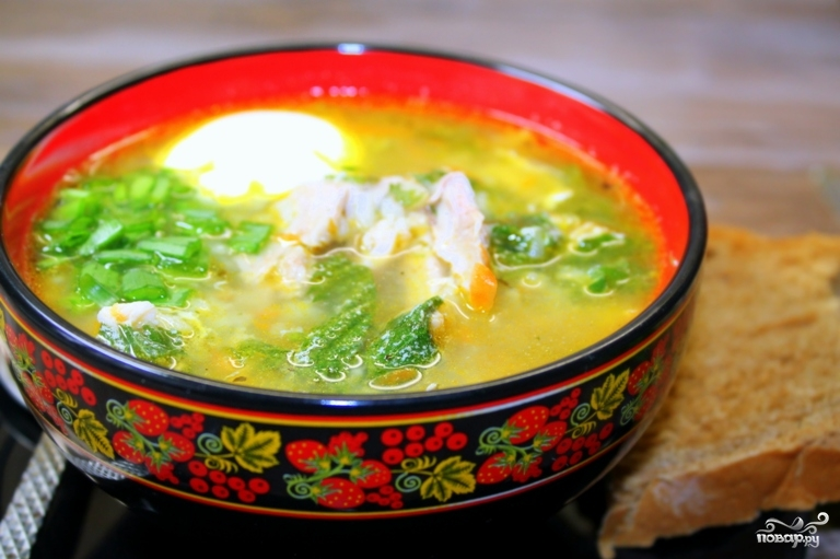 Суп из крапивы с мясом - фото шаг 13