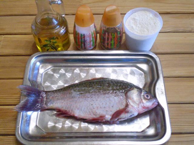 Рецепт Жареная речная рыба