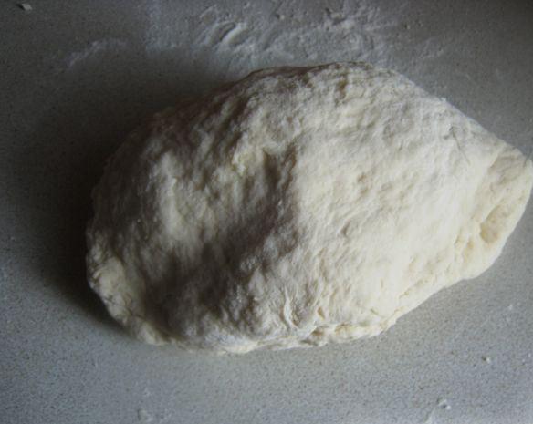 Тесто на воде без дрожжей - фото шаг 5