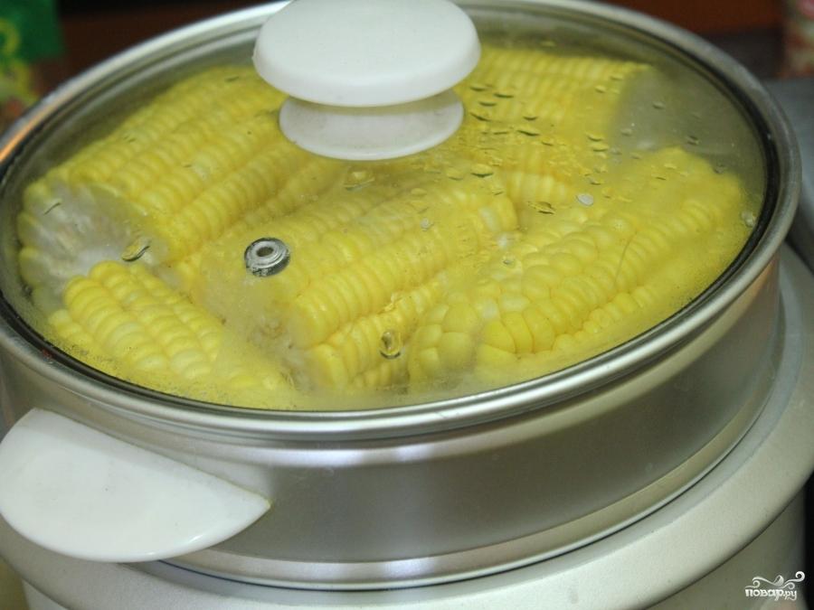 Кукуруза на пару - фото шаг 3