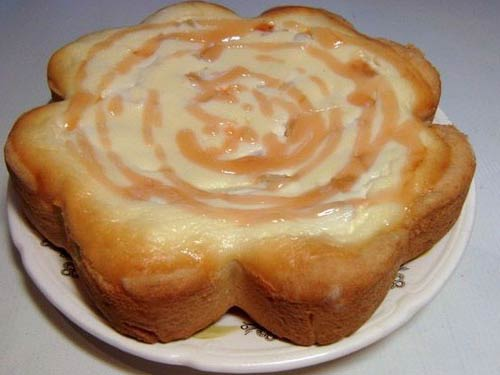 Творожный пирог с ананасами - фото шаг 8