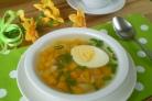 Летний суп из моркови