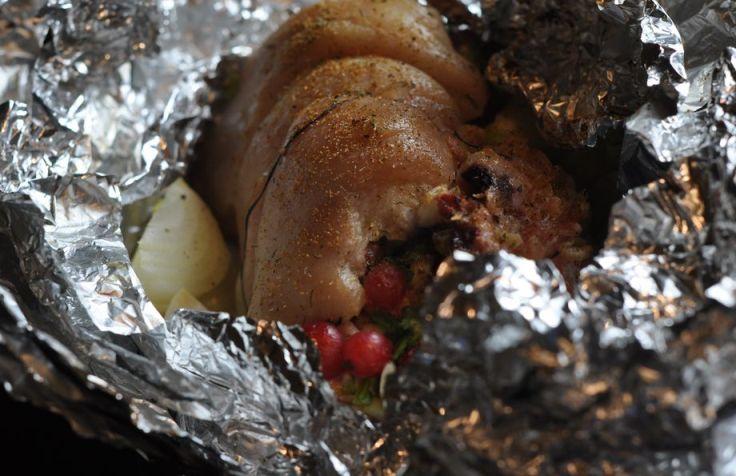 Свиная рулька в фольге - фото шаг 3
