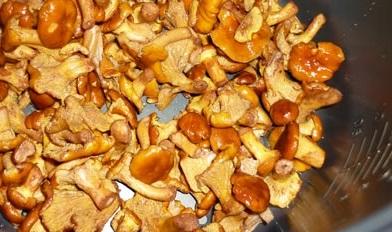Рецепт Лисички, жареные с картошкой в мультиварке