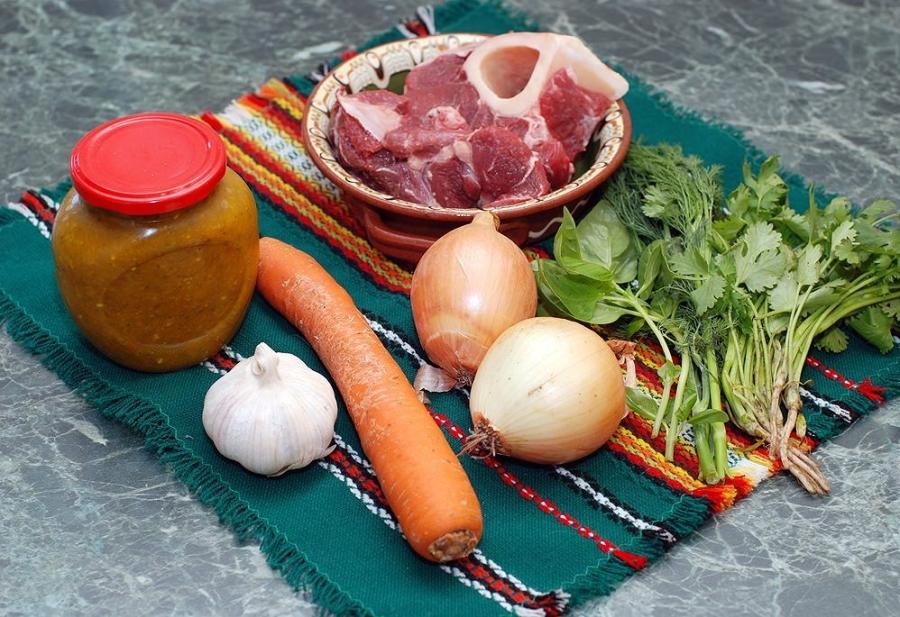 Рецепт Суп с говядиной и рисом