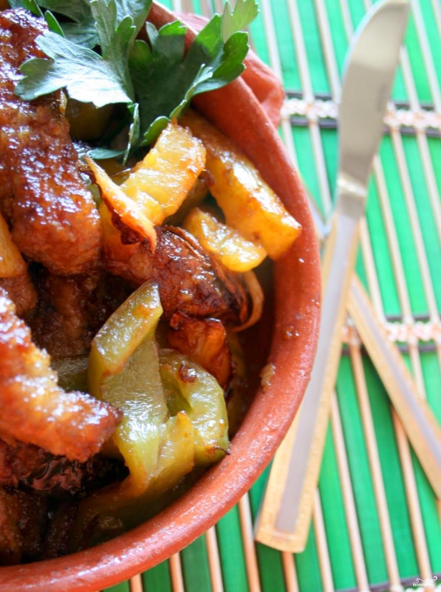 Мясо с ананасом - фото шаг 5