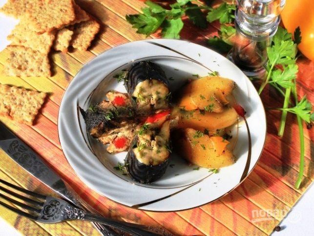 рецепт приготовления скумбрии с картошкой в духовке с фото