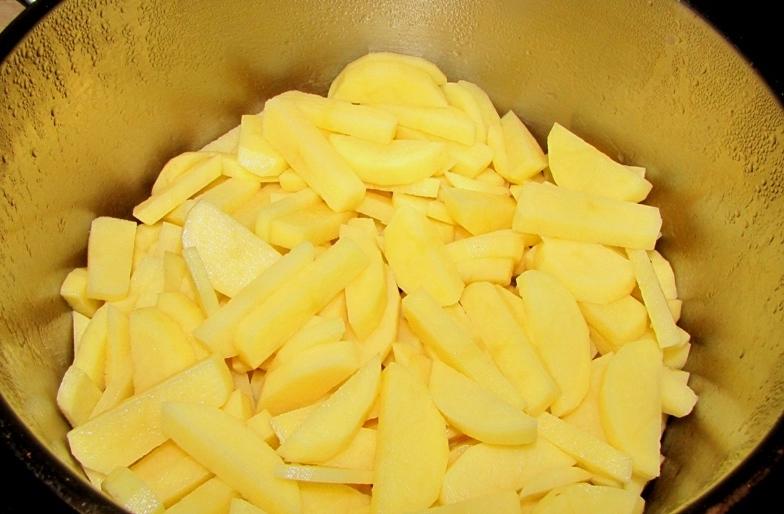 Соус из баранины с картошкой - фото шаг 4