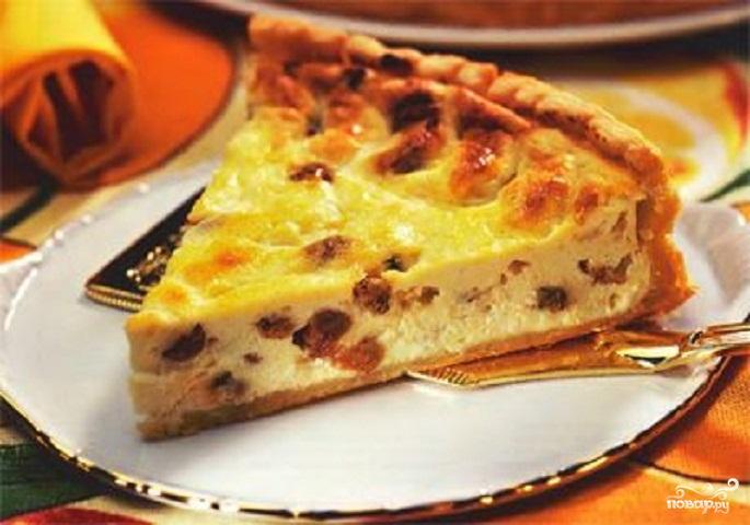Пирог с изюмом