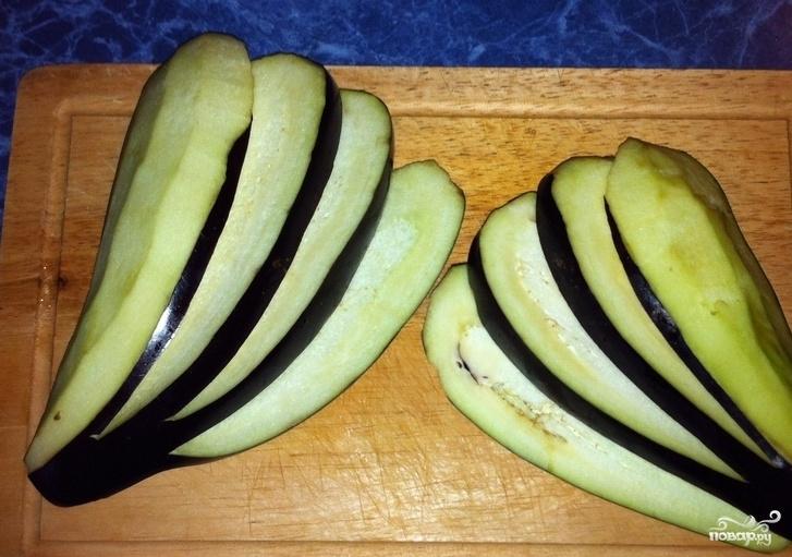 Рецепт баклажан с брынзой