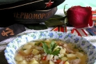 Суп со свининой и гречкой