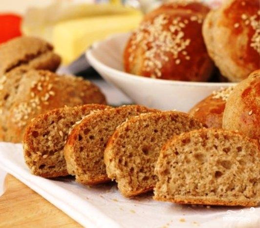 Ржаные булочки с луком - фото шаг 13