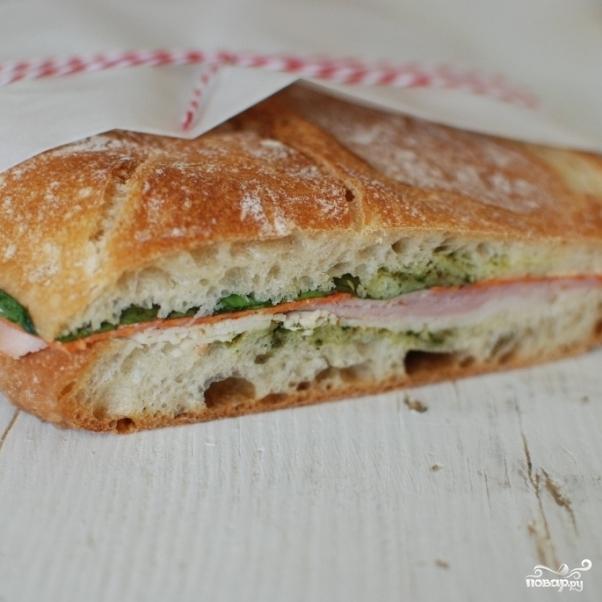 Сэндвич-кирпич - фото шаг 13