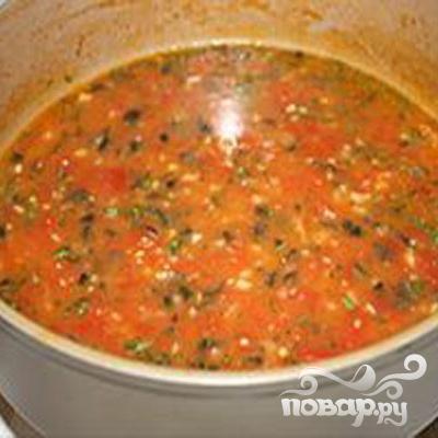 Куриное филе в томатном соусе - фото шаг 5
