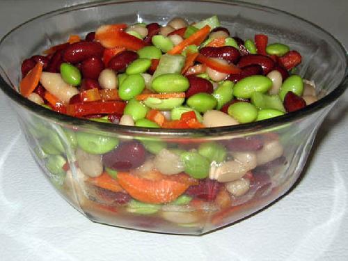 Тройной бобовый салат - фото шаг 11