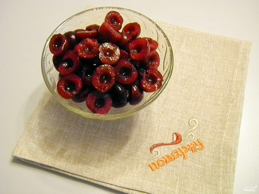 Торт из слоеного теста со сгущенкой - фото шаг 4