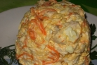 Куриный салат с морковью