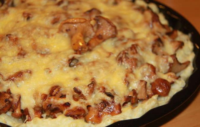 96Картошка с лисичками в духовке рецепт