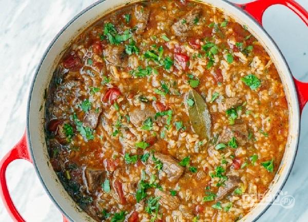 Как приготовить вкусный суп харчо из говядины пошаговый рецепт с