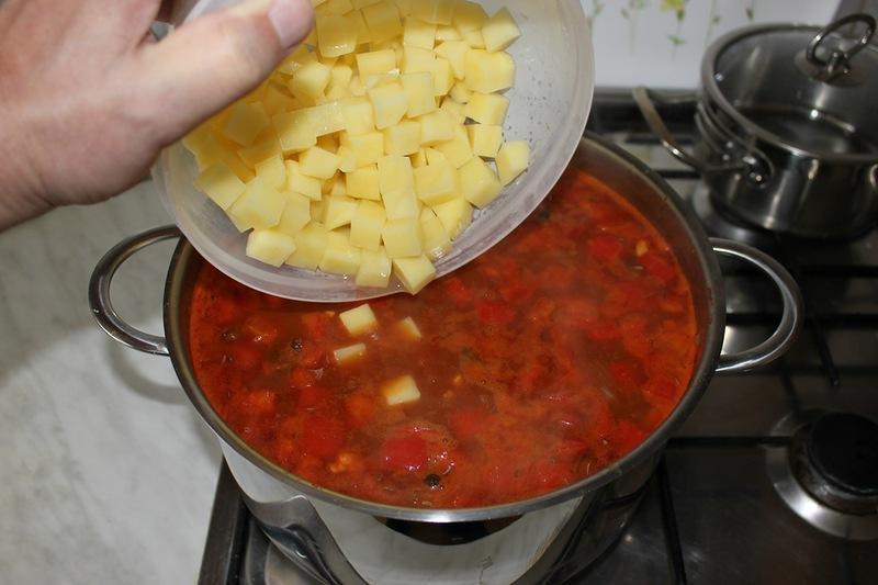 Суп-гуляш из говядины - фото шаг 18