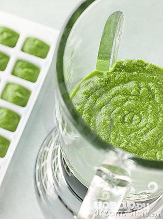 Зеленый витаминный напиток с кокосом - фото шаг 3