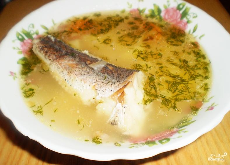 Суп картофельный с рыбой - фото шаг 8